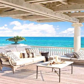 65 Beachy Porches and Patios -  Beach house. You absolutely must have some kind of porch if you hav