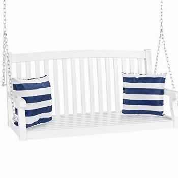 Best Choice Products 48in 3-Seater Hanging Porch Swing