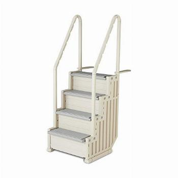Confer Step-1 Heavy-Duty Above Ground Swimming Pool Ladder