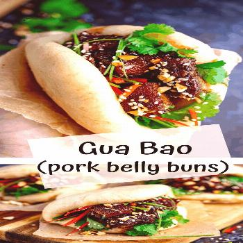 Gua Bao - soft fluffy Bao buns stuffed with tender sticky pork belly. I'm going to show you how to