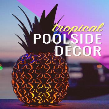 Poolside Decor Pool, patio, and garden accents that add fun, flare and color to your outdoor space!