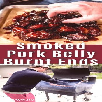 Smoked Pork Belly Burnt Ends are irresistible, juicy bites of mouthwatering meat (the same kind use