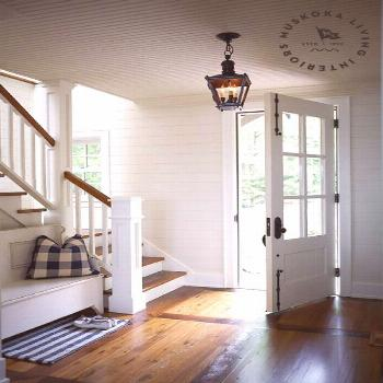 Welcoming Farmhouse Style Porches And Entryway Ideas – Follow The Yellow Brick Home  Love love lo