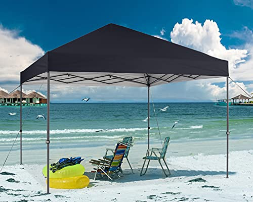 ABCCANOPY Durable Easy Pop up Canopy Tent 12x12, Black