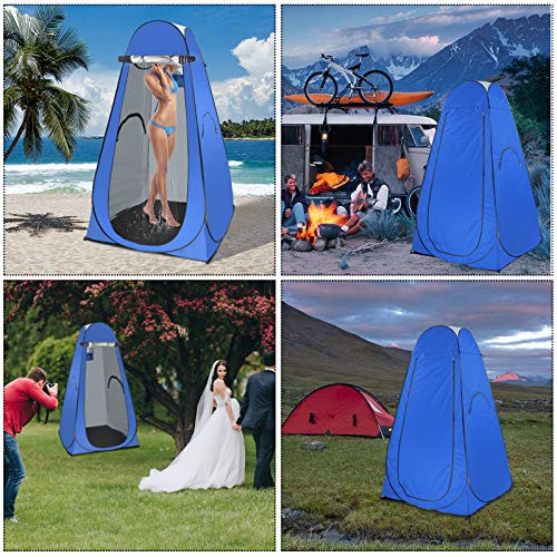 BOTINDO Pop Up Privacy Shower Tent, 6.3FT Portable Changing
