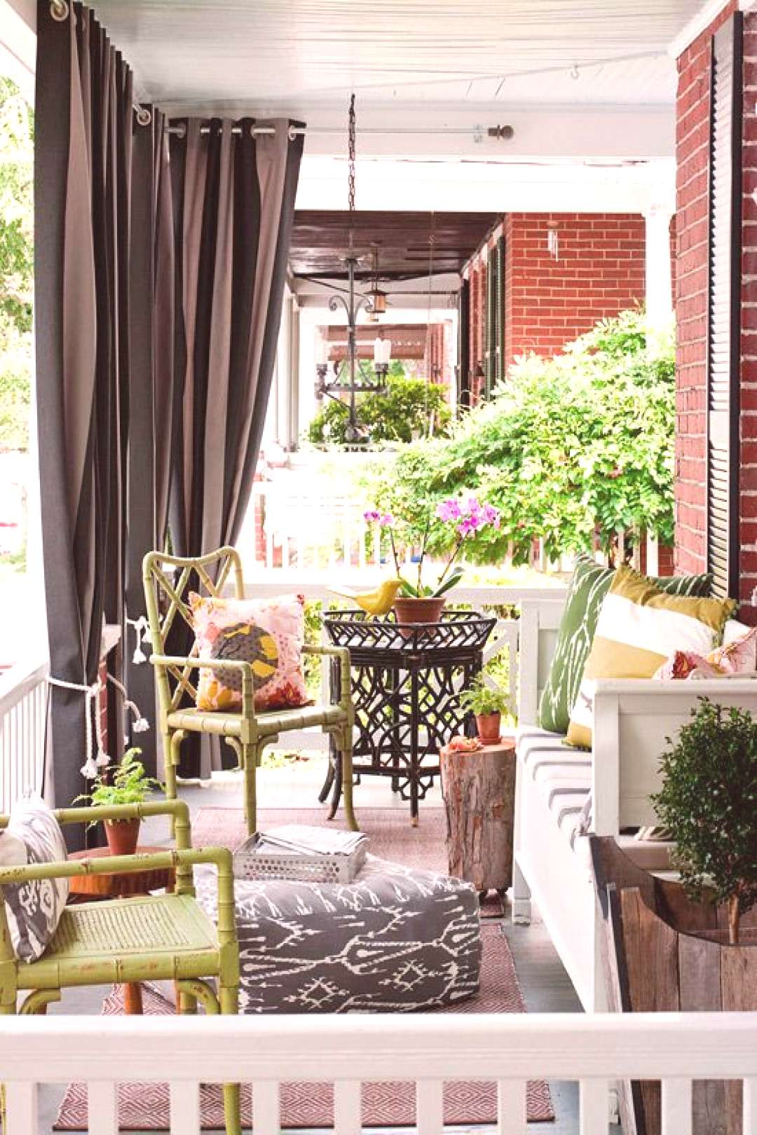 Eye Candy 8 Fabulous Front Porches#candy