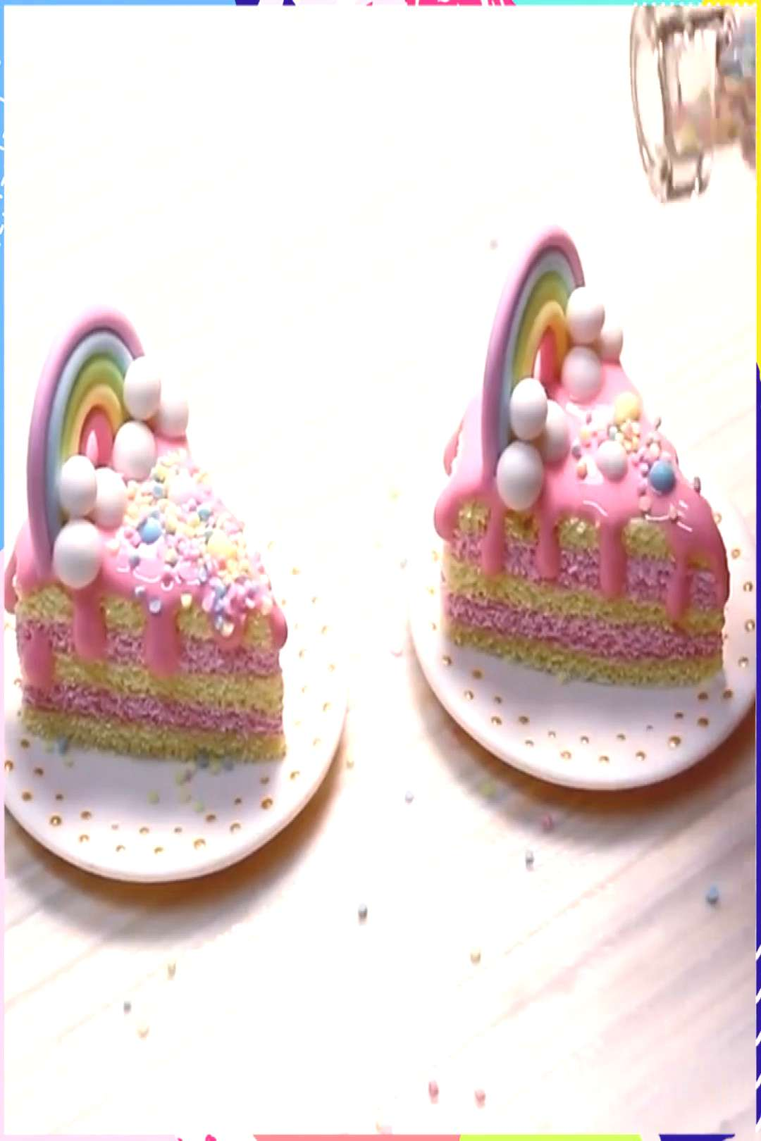 MINIATURE CAKES  Not sure if these can satisfy your sweet tooth, but you can use them as appetizers